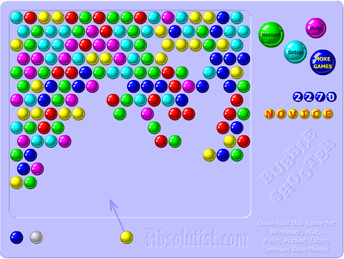 bubble shooter 1001